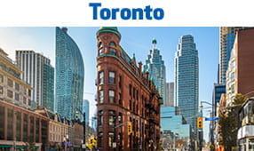 Toronto, Ontario - unique city buildings